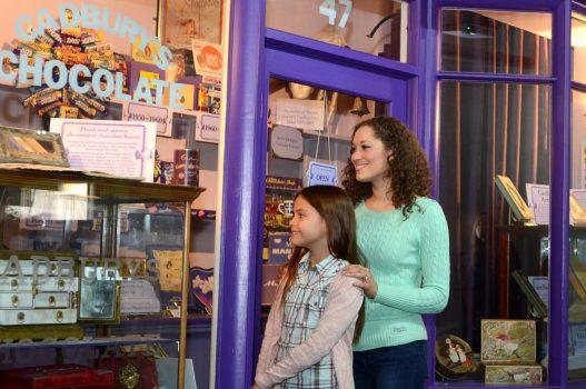 Shop window -Cadbury World, Birmingham