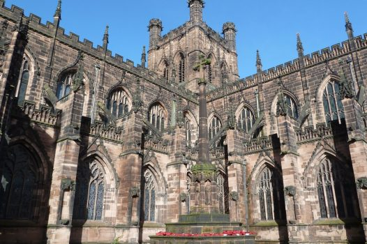 Chester, Cheshire - Cathedral
