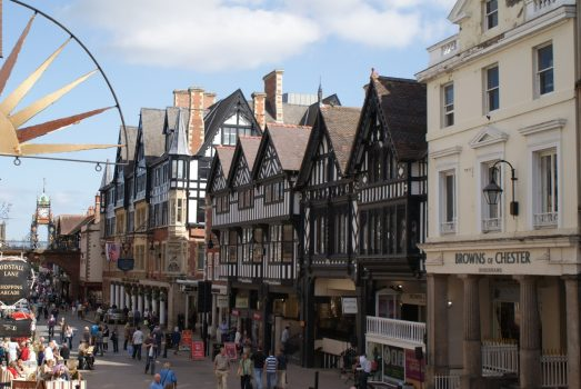 Chester, Cheshire - Eastgate