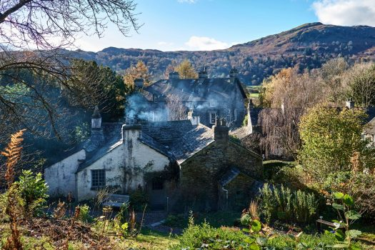 Dove Cottage and The Wordsworth Museum, Grasmere, Cumbria - View from Dove Cottage Garden © Wordsworth Grasmere