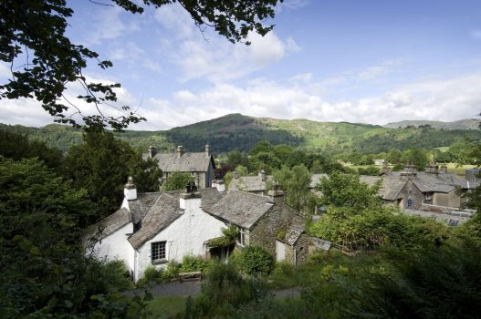 Dove Cottage and The Wordsworth Museum, Grasmere, Cumbria - View of Dove Cottage from Dove Cottage Garden © Wordsworth Grasmere
