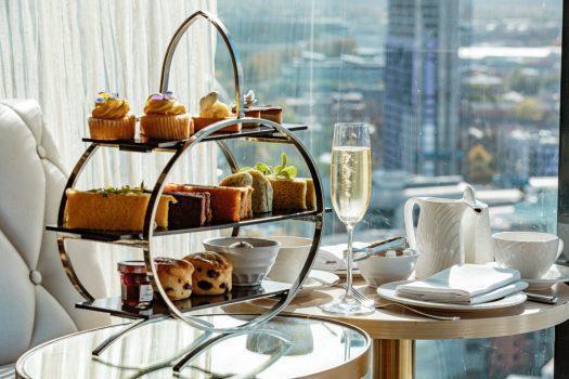 Hilton Manchester Deansgate hotel, Manchester - Cloud 23 - Afternoon Tea (3-NCN)