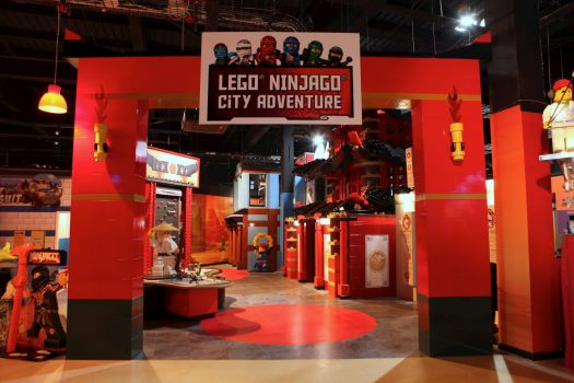 LEGOLAND Discovery Centre - Lego Ninjago City Adventrure