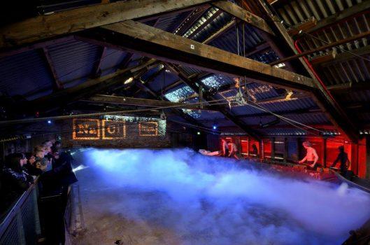 Lion Salt Works, Marston - Steaming Salt Pan simulation