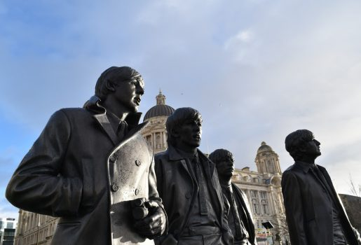 Liverpool, North West - Beatles statue © Marketing Liverpool