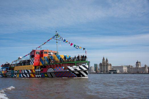 Liverpool, North West - Sir Peter Blake Everybody Razzle Dazzle 2015 © Photo Mark McNulty