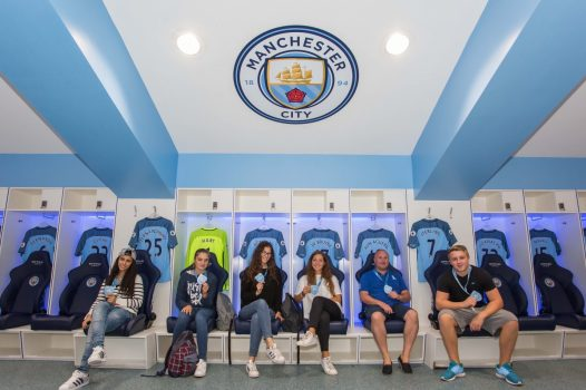 MCFC Etihad Stadium Changing Room ©Marketing Manchester