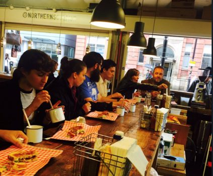 Manchester Food Walk - Northern Quarter (NCN)