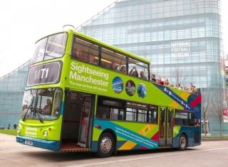 Sightseeing Manchester Bus