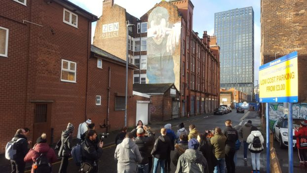 Manchester Sightseeing Street Art