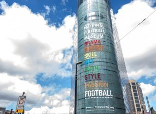 National Football Museum, Manchester - Exterior (02) © Chris Payne