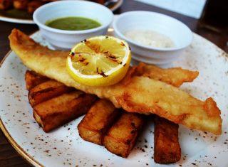 podium fish and chips