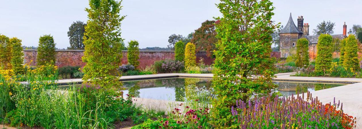 The Paradise Garden at RHS Garden Bridgewater © RHS/Photographer Neil Hepworth