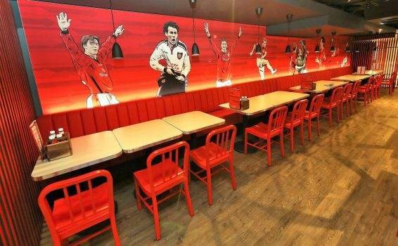 Red Cafe, Manchester United