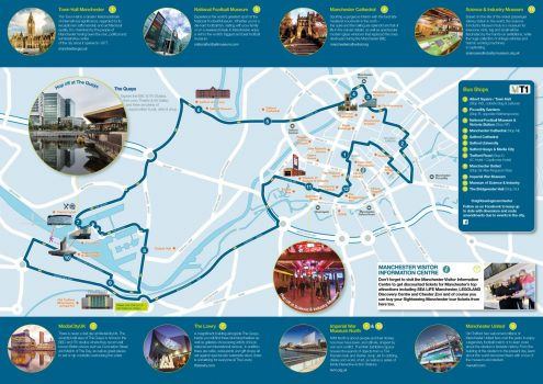 Sightseeing Manchester Map