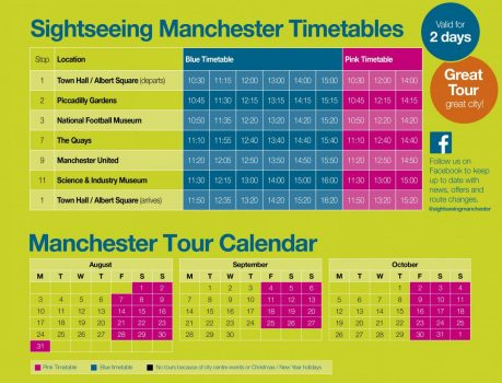Summer Timetable 2020