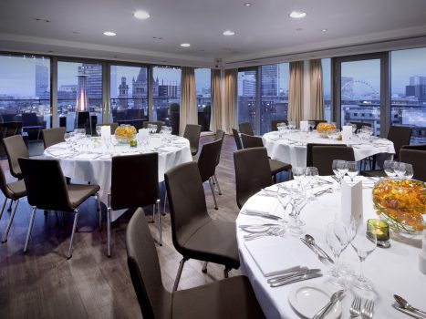 Sky Lounge Dining at DoubleTree by Hilton Manchester Piccadilly