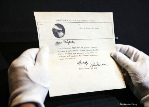 The Beatles Story, Liverpool - John Lennon Letter © The Beatles Story